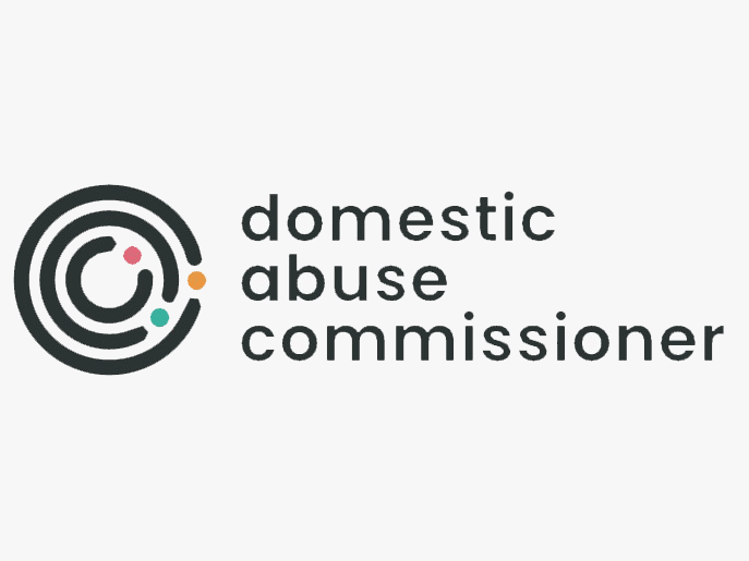 Domestic Abuse Commissioner logo in content