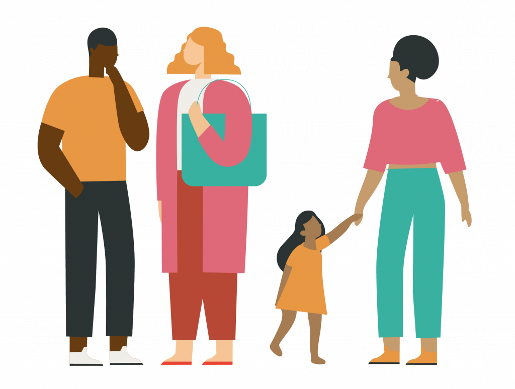 DAC Illustration of people